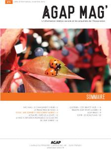 AGAP MAG page de couverture