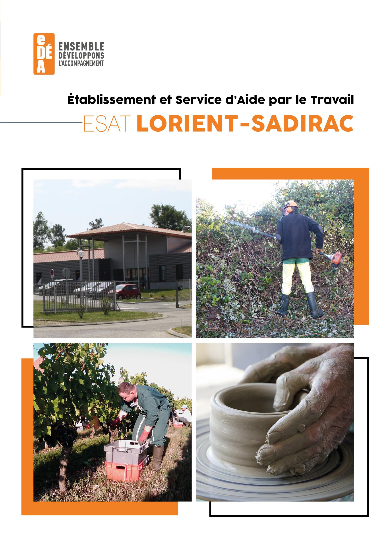 Brochure de présentation LORIENT-SADIRAC