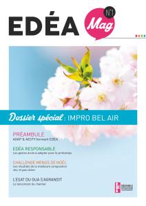 Page de couv EDÉA Mag
