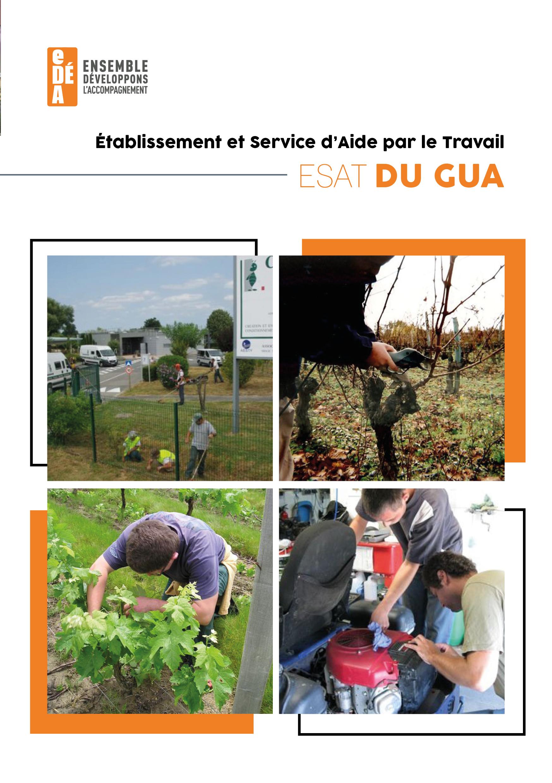 Brochure de présentation esat du gua
