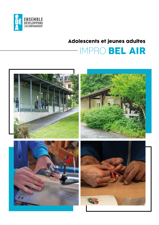 Brochure de présentation bel air