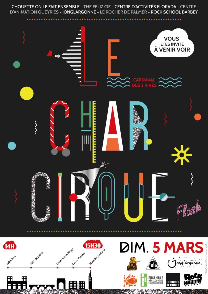 Affiche char cirque 2017