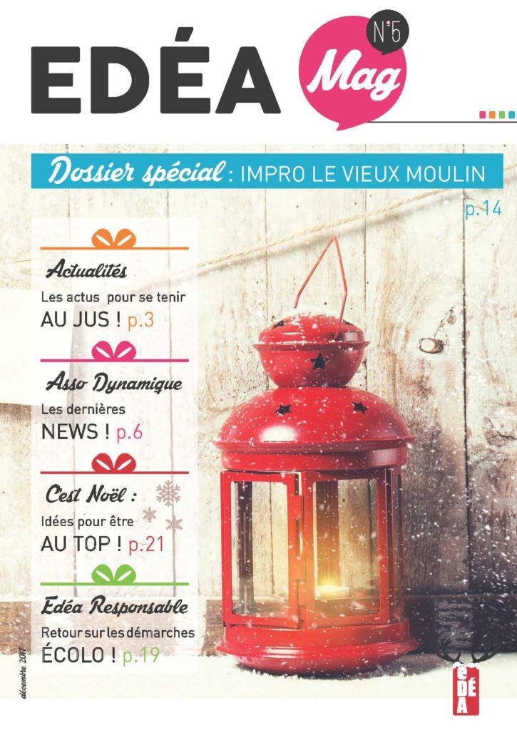 EDÉA Mag n° 5 page de couv
