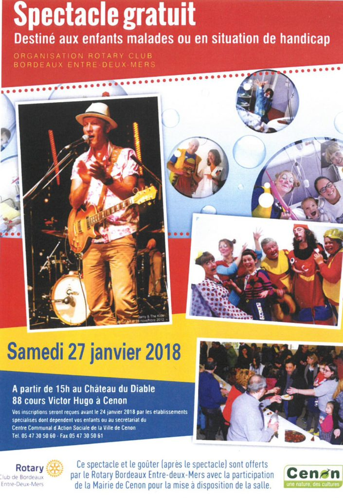 affiche rotary